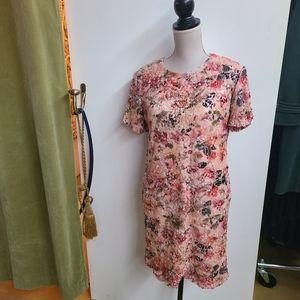 Le Chateau Sequin Embellished Dress